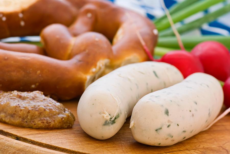 Баварские колбаски, Германия, Европа