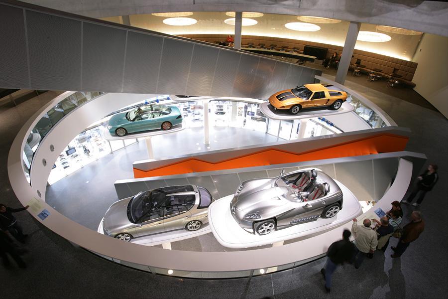 Музей Mercedes-Benz, Штутгарт, Земля Баден-Вюртемберг, Германия, Европа