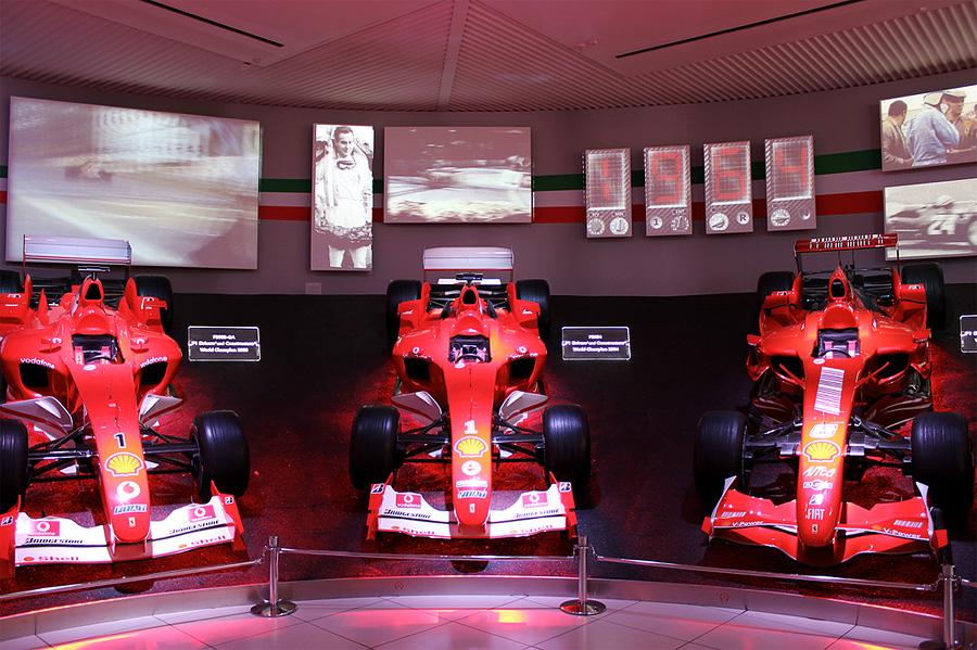 Музей Ferrari, Маранелло, Италия, Европа