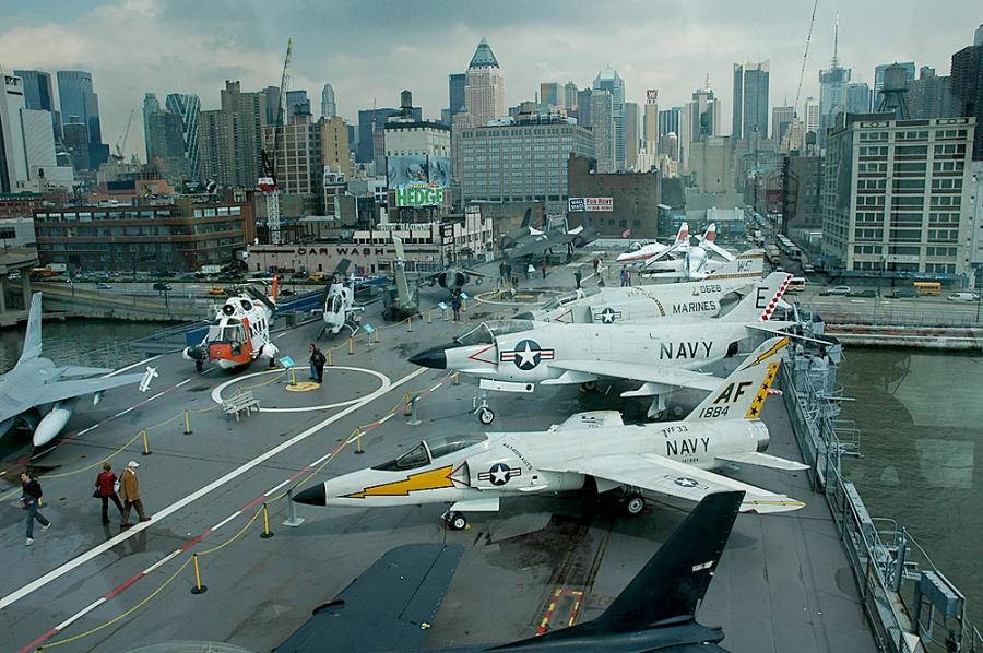 Авианосец Intrepid, Нью-Йорк, США, Северная Америка и Карибы