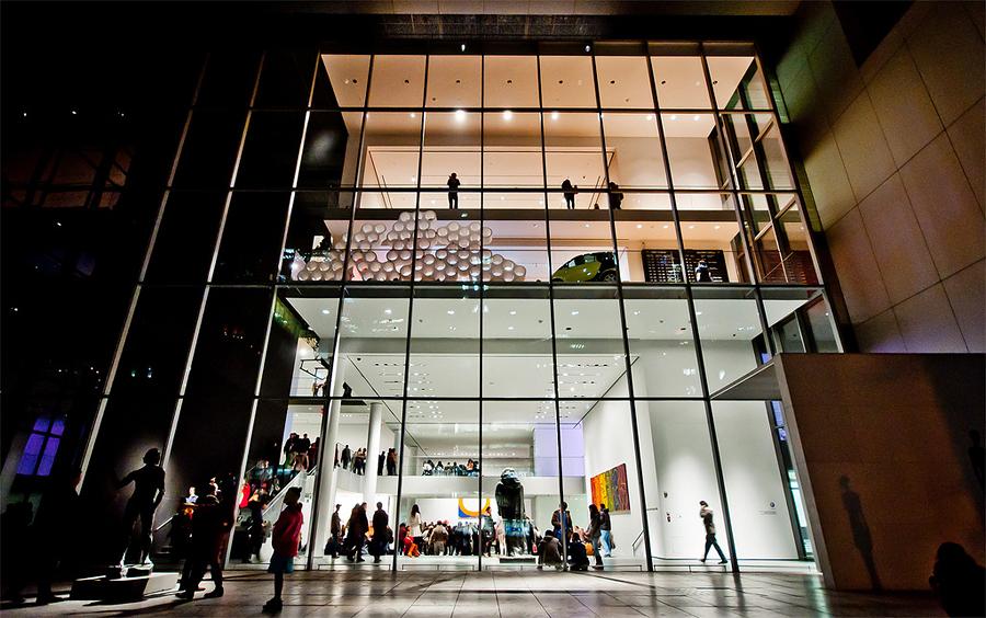 Музей современного искусства, Нью-Йорк, США, Северная Америка и Карибы