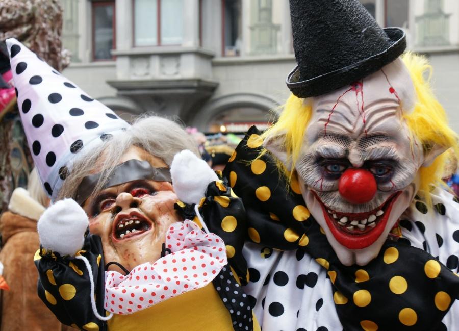 Карнавал монстров, Люцерн, Швейцария, Европа